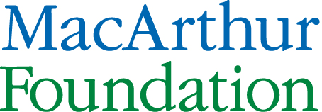 Logo of the MacArthur Foundation